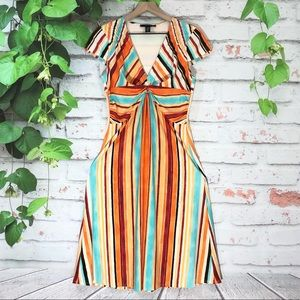 🌷LAUNDRY by Shelli Segal Stripe Dress🌷